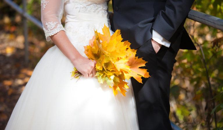 matrimonio tema autunno